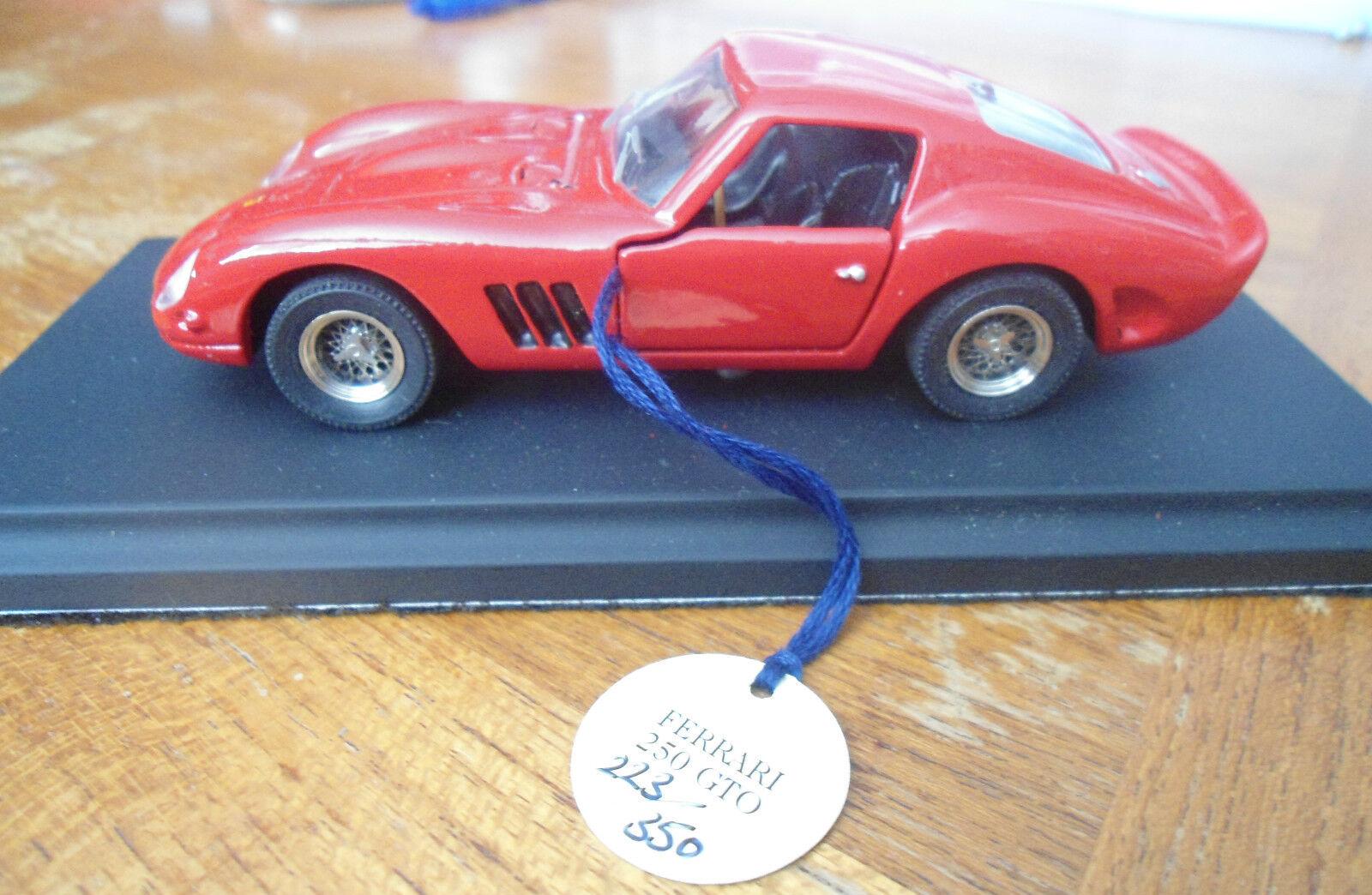 Maisto1963 FERRARI 250 GTO Ferrari Historisk Challenge 1997 Gift låda 223 av 350