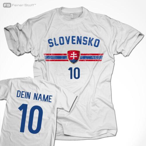 Fußball Fan WM Trikot mit Name /& Zahl 2018 T-Shirt Weltmeister all nations