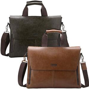 Jeep men messenger Laptop bags men's briefcase tote shoulder ...