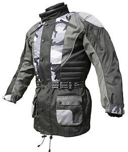 Baby-Biker-Enfants-Enfants-Moto-Cool-Textile-Veste-Camo-T