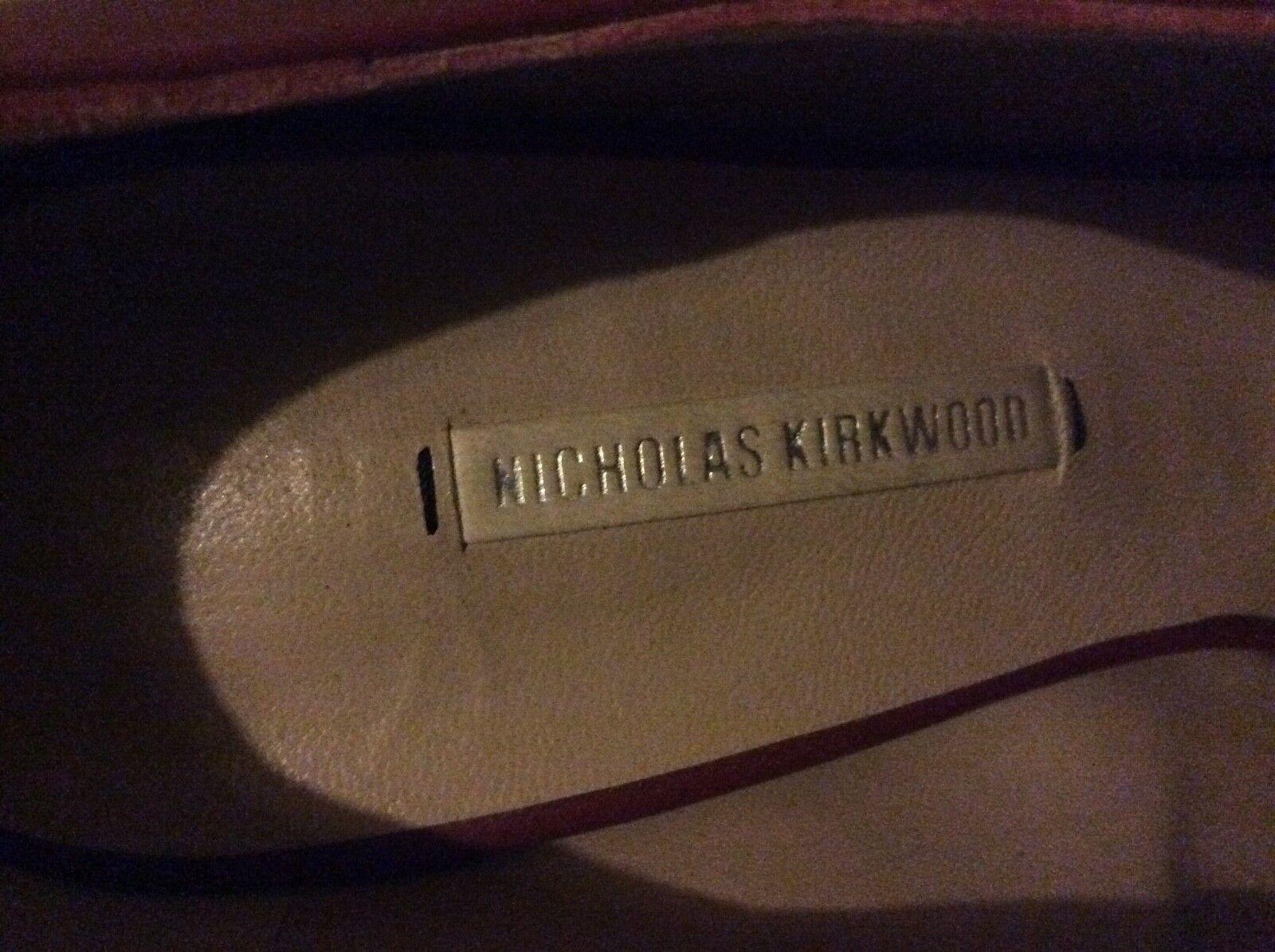 Beautiful Beautiful Beautiful Nicholas kirkwood schuhe tan Größe 38 5951b8