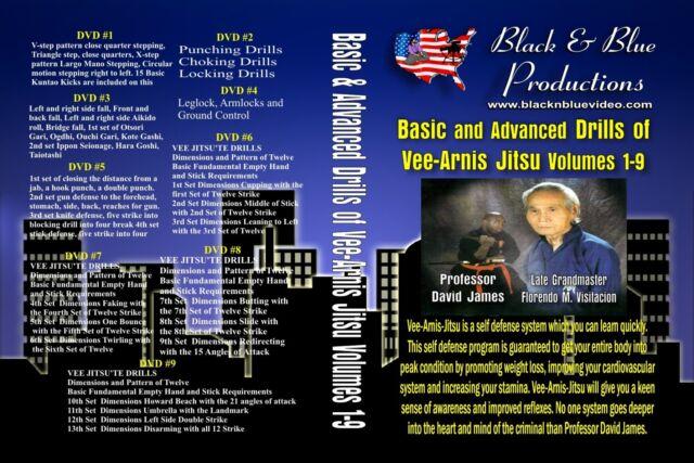 David James - Vee-Arnis-Jitsu Series 9 DVDs