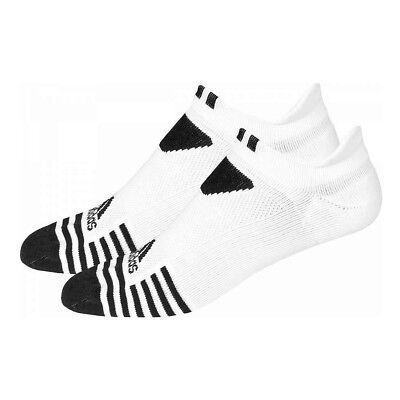 Adidas Golf Cool & Dry No Show Socks White Black Stone Grey 7 - 10.5 Pick Color