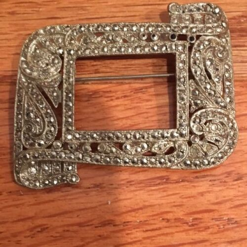 Marcasite Vintage 1930s/40s Pin/ Brooch