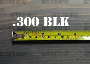 Details about  300 BLK Sticker Decal 3 5
