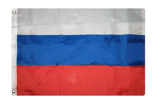 2x3 Russia Polyester Premium Quality Flag 2/'x3/' House Banner Grommets