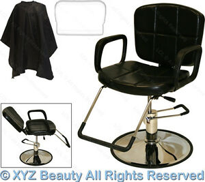 Hydraulic reclining barber or recline shampoo chair beauty for A and m salon equipment
