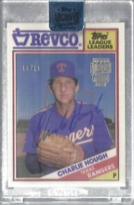 Charlie-Hough-Topps-Archives-Signature-Series-On-Card-Auto-15-Rangers-MLB