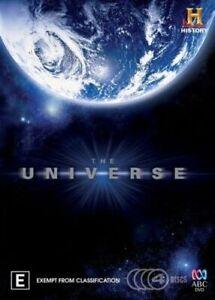The-Universe-Season-1-DVD-4-Disc-Series-One-First-REGION-4-AUSTRALIA