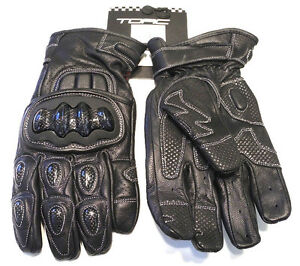 Torc Pico Carbon Molded Armor Reinforced Super Soft Leather Motorcycle Gloves Ebay