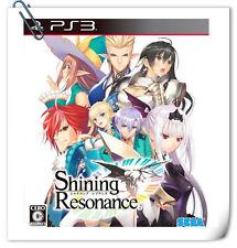 PS3 Shining Resonance 光明之響 中文 日文 SONY PlayStation RPG Games SEGA