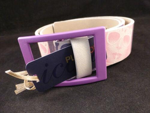 Beautiful Retro Vintage Playboy Pink /& Purple Iconic Photo Belt With Bunny Logo