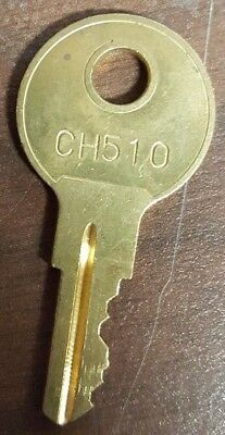 2 Pcs of Cut Keys Code CH510 RV Compartment Trucks Tool Box Lock Cargo