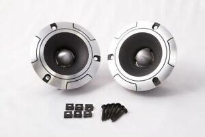 CT Sounds Pro Audio 4 Inch Bullet Type Car Audio Tweeter Horns (Pair) 2 Pieces