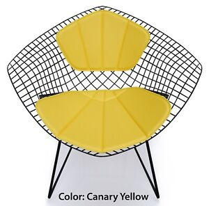 Miraculous Details About Bertoia Diamond Chair Replacement Cushion And Back Rest Eames Era Mid Century Squirreltailoven Fun Painted Chair Ideas Images Squirreltailovenorg