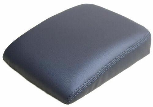 Vinyl Dark Gray Center Console Lid Armrest Cover Fits 01-06 Acura MDX