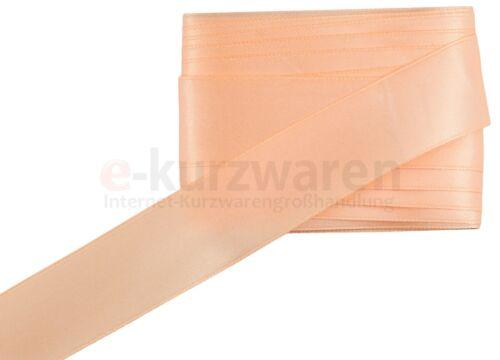 50mm//5m Satinband 84 Farben 0,32€//m Dekoband Geschenkband Schleifenband Deko