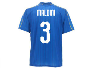 71544f5e5 Caricamento dell'immagine in corso Maglia-Ufficiale-Italia-Maldini-Nazionale -Federazione-FIGC-Paolo-