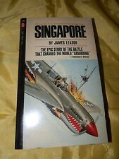 1968 Curtis PB Book-Singapore by James Leasor-Great Looking Cover