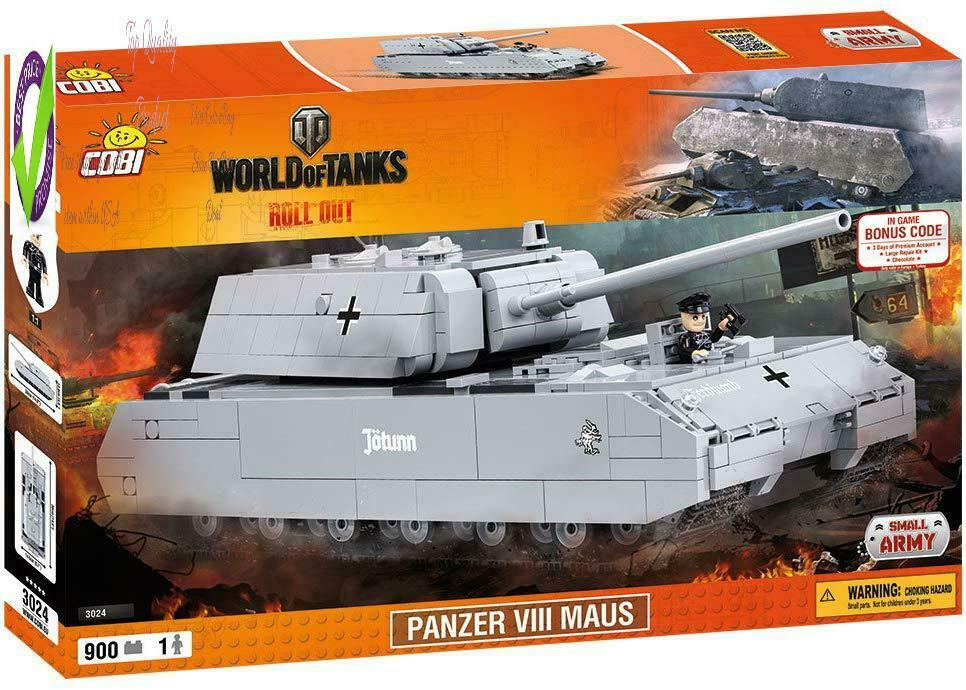 Cobi World Of Tanks Panzer Viii Maus Tank