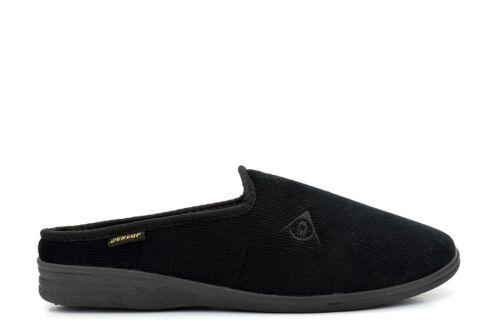 Dunlop Mens Mule Slipper Extra Large Slip On Slipper Ribbed Valour Size 13//12//11