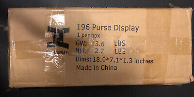 Handbag Display Purse Stand Carrying Tote Holder Scarf Rack Retail Bag Rack
