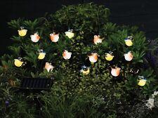 Smart Solar 16 x luz LED de cuerdas, Pájaro Árbol de iluminación, Jardín Al Aire Libre, Nuevo Y En Caja