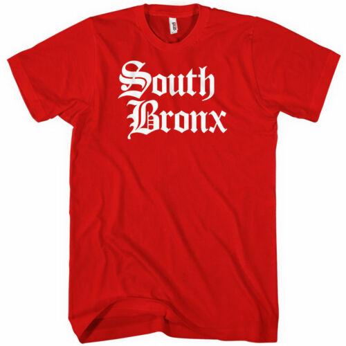 SOUTH BRONX T-shirt BX New York NYC 718 917 Hip Hop NEW XS-4XL Gothic