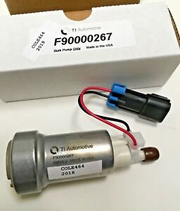450LPH EXP  MADE IN USA Genuine WALBRO F90000274 E85 RACING FUEL PUMP ONLY