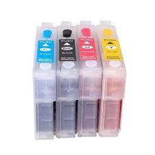 Non OEM Set Ricaricabili Cartucce di inchiostro per Epson S22 SX125 SX130 SX420W SX425W