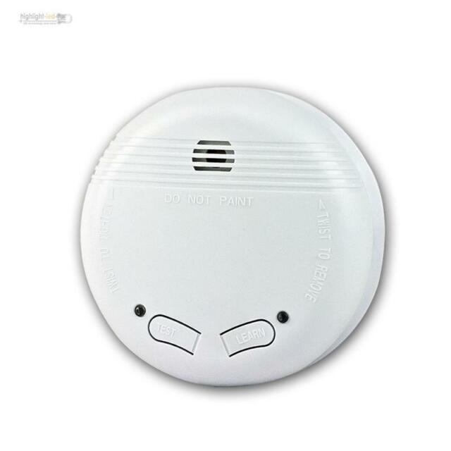 Rauchmelder Feuermelder Funk-Brandmelder Warnmelder koppelbar DIN EN14604