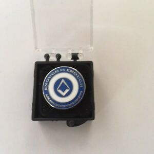GREATLY-REDUCED-OFFICIAL-UGLE-BRANDED-ENOUGH-IS-ENOUGH-LAPEL-PIN-MASONIC