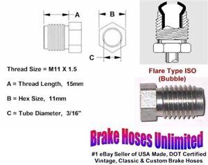 MALE-TUBE-NUT-M11-x-1-5-Bubble-Flare-3-16-034-Line