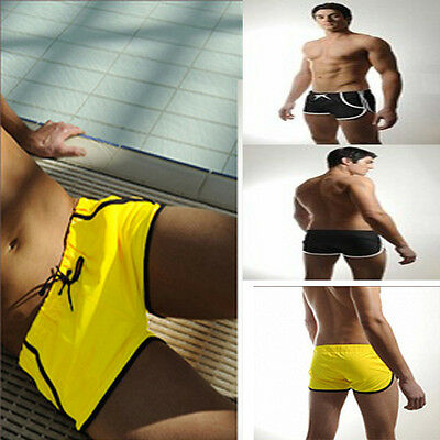 Mens Swimming Trunks Boxer Shorts Swimsuit Underwear Swimwear Beachwear Trunks