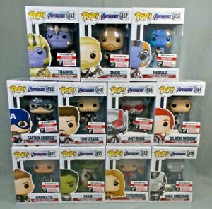 FUNKO-POP-AVENGERS-ENDGAME-ENTERTAINMENT-EARTH-EXCL-SET-OF-11-W-TRADING-CARDS