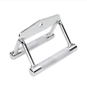 Triangle-V-Close-Grip-Seated-Steel-Row-Bar-Cable-Machine-Equipment-Back-Training