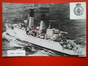 PHOTO  HMS LINCOLN F99 WAS A SALISBURYCLASS OR TYPE 61 AIRCRAFT DIRECTION FRI - <span itemprop=availableAtOrFrom>Tadley, United Kingdom</span> - Full Refund less postage if not 100% satified Most purchases from business sellers are protected by the Consumer Contract Regulations 2013 which give you the right to cancel the purchase w - Tadley, United Kingdom