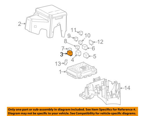 GM OEM-ABS Relay 13503102