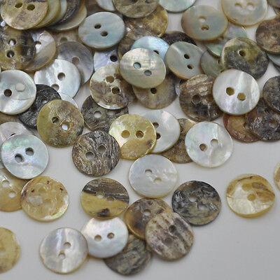 100pcs Mix Plastic Buttons Scrapbooking Sewing Craft Appliques PT104
