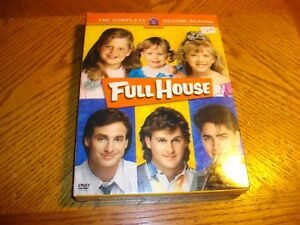 Full-House-The-Complete-Second-Season-DVD-2005-4-Disc-Set