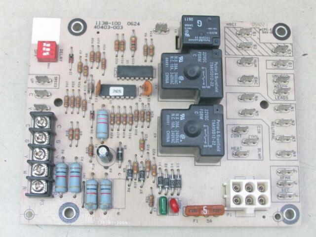 Armstrong Furnace Control Circuit Board R40403-001