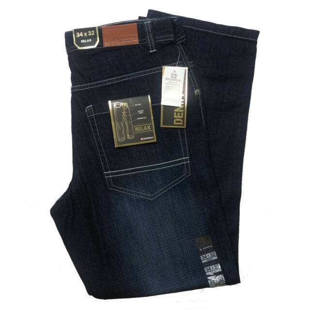Southpole Mens Relaxed-Fit Core Jean Jean
