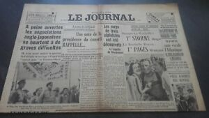 Newspapers The Journal N°17070 Sunday 16 July 1939 ABE