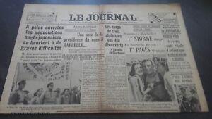JOURNAUX-LE-JOURNAL-N-17070-DIMANCHE-16-JUILLET-1939-ABE