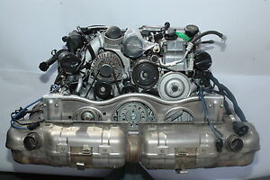 porsche 997 gt2 engine 997100970lx 2009 ebay. Black Bedroom Furniture Sets. Home Design Ideas