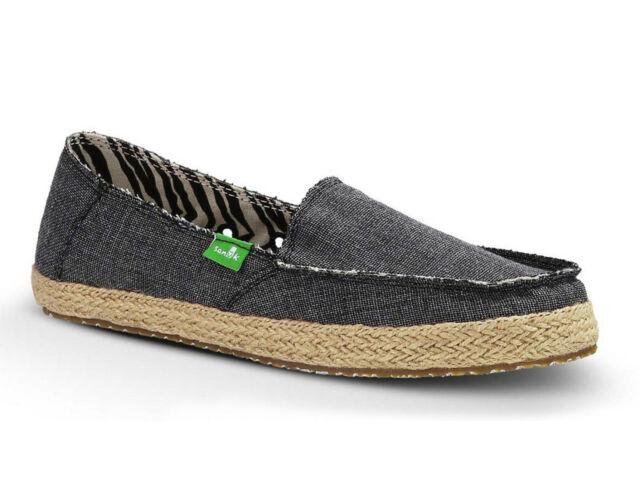Womens Sanuk Shoes Fiona Canvas Slip on