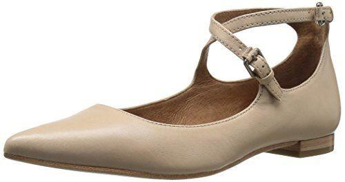 FRYE Damenschuhe Pick Sienna Cross Ballet Flat- Pick Damenschuhe SZ/Farbe. d983b4