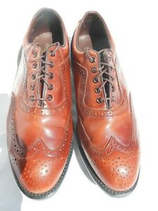 Vintage Leather Golf Shoes Wing Size 9