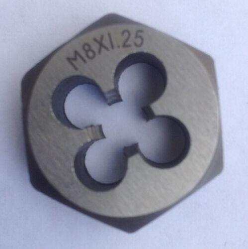 de matriz redonda model: R9350VIIO-4737SW Aexit Acero 5 mm Grosor m/étrico M6 x 0,75 mm Rosca de tornillo Herramienta