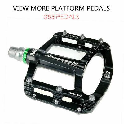 2X  Mountain Bike Flat Pedal MTB Accessories Bicycle Clip Board #